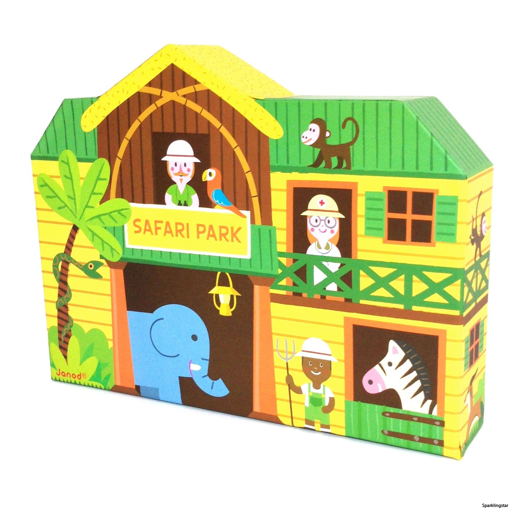 Janod Safari Story Box