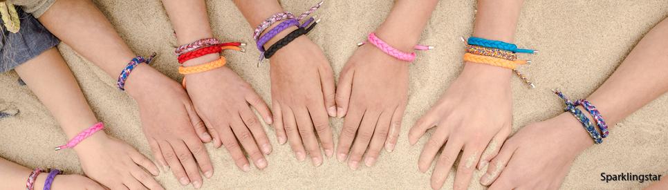 sand n salt Armband (Lila)