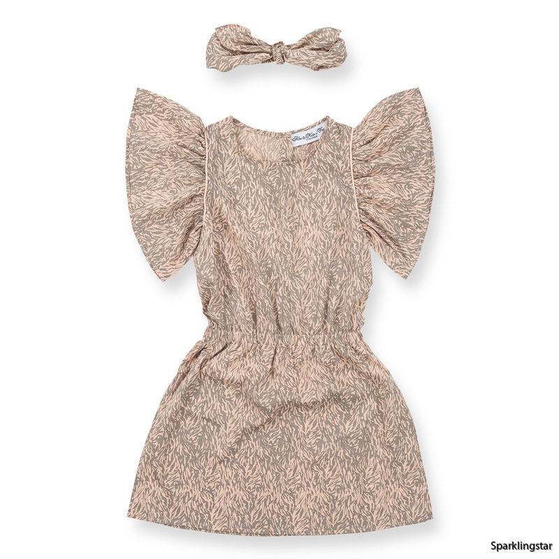 How to Kiss-a Frog Celeste Dress Beige Speckle