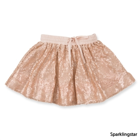 How to Kiss-a Frog Sparkle Skirt Pink
