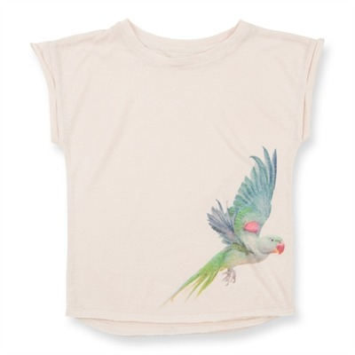 How to Kiss-a Frog Cut T Parrot Off White - How to Kiss-a Frog Cut T Parrot Off White ( Storlek 4 år )