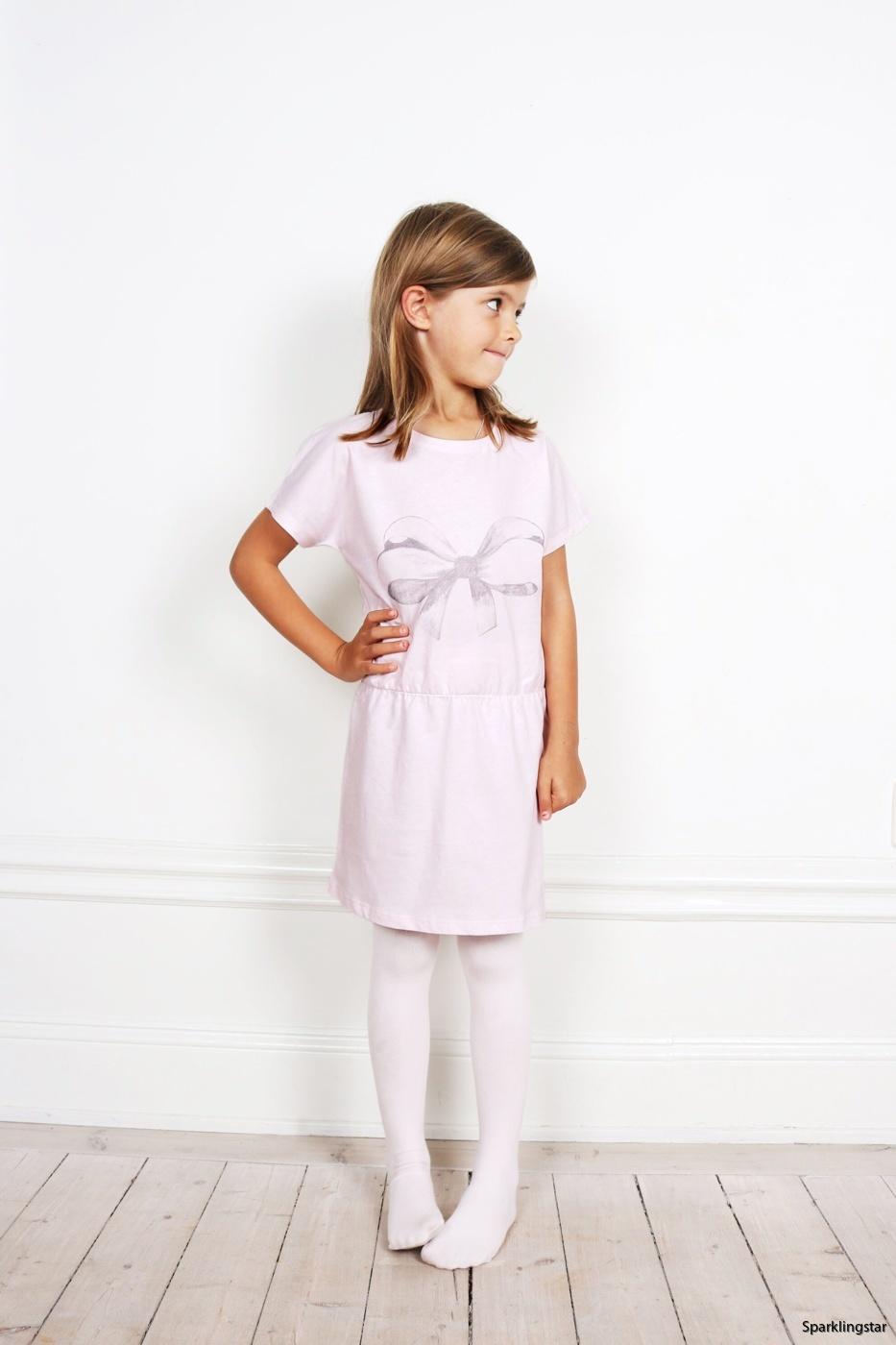 ONE WE LIKE Flash Bow Dress Pink