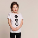 One We Like X Acne JR T-shirt Knappar