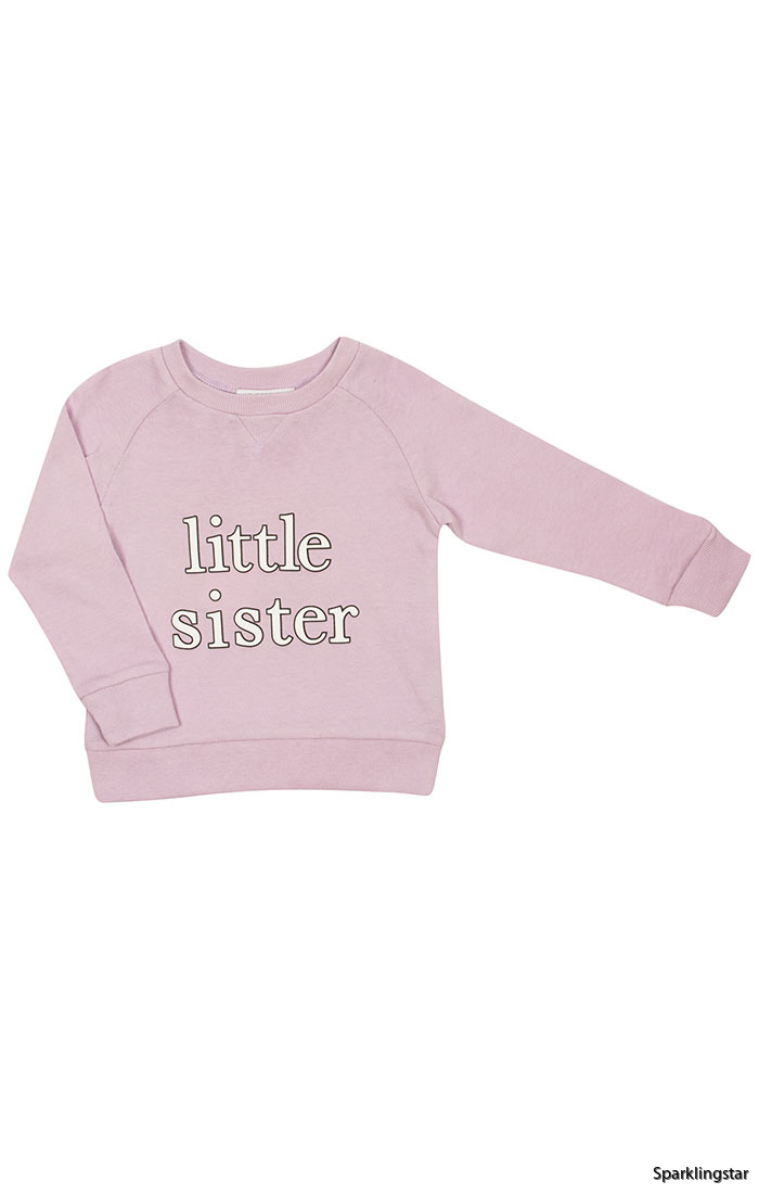 ddce6f059 Livly Little Sister Sweatshirt - Lively Little Sister Sweatshirt ( Storlek  6 år )