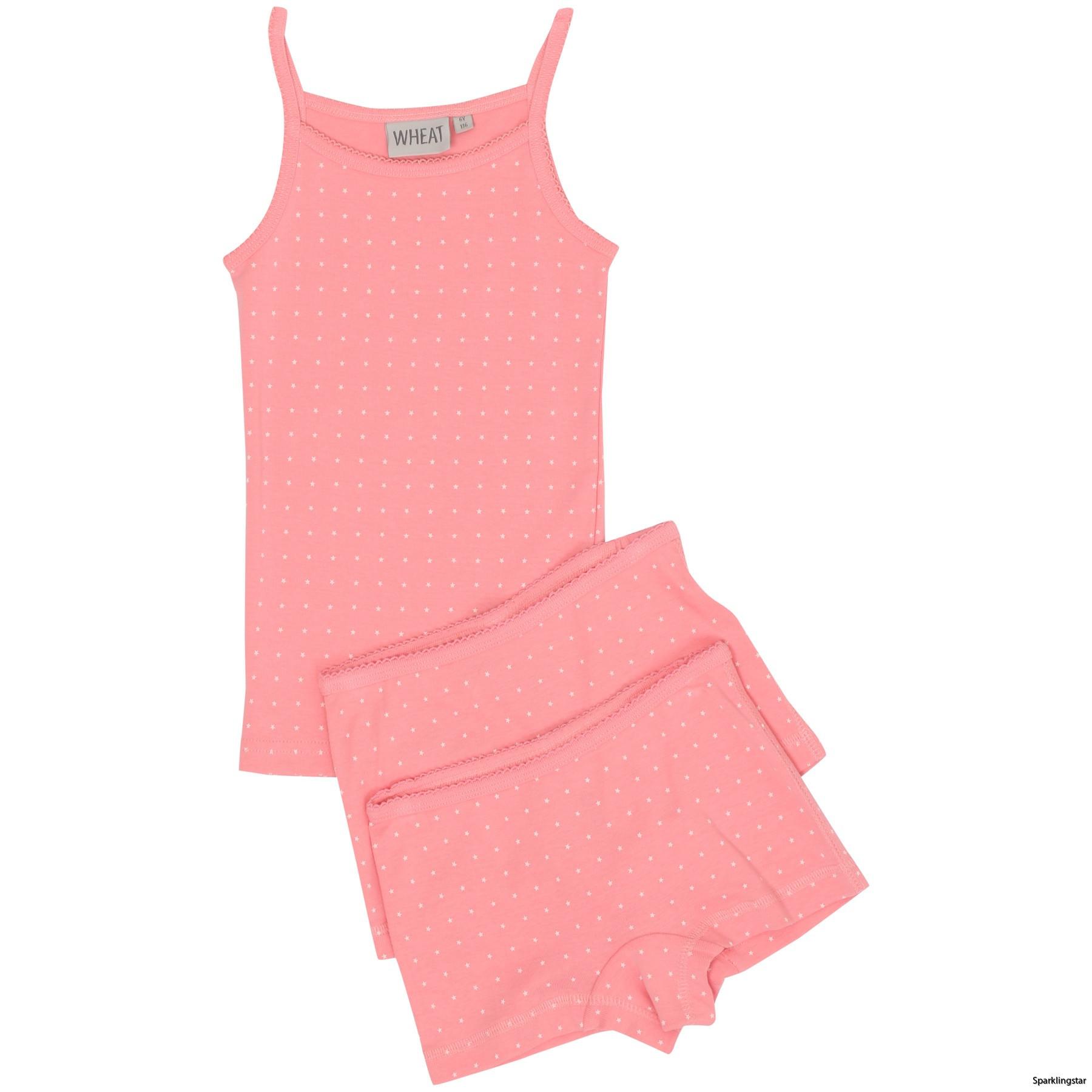 Wheat Girls Printed Underwear Pink