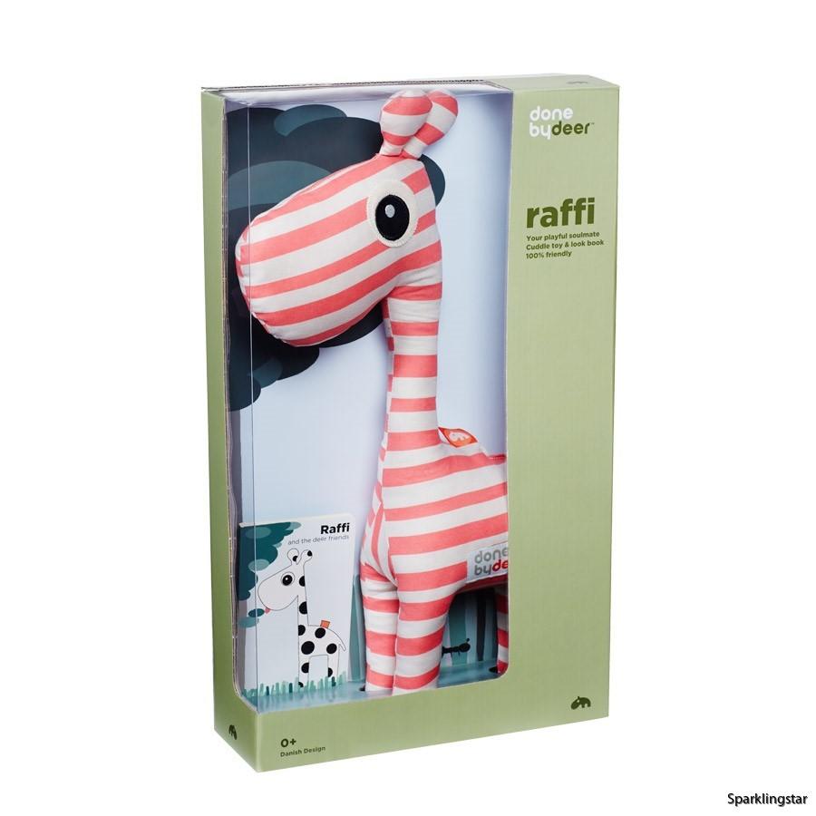 done by deer Raffi Soft Toy + Look Book Raspberry