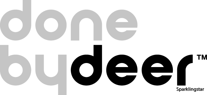 done by deer Logo