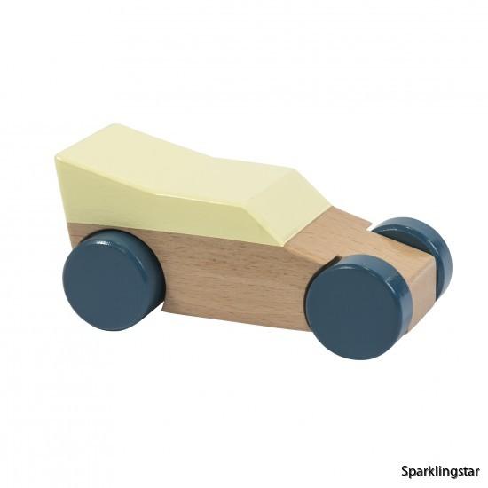 sebra Racerbil I Trä