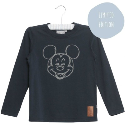 Wheat T-shirt Happy Mickey - Wheat T-shirt Happy Mickey ( Storlek 4 år )