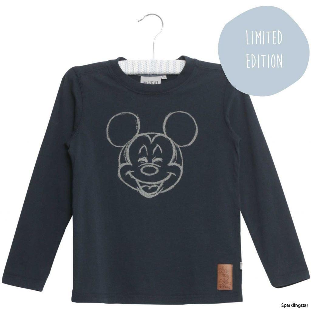 Wheat T-shirt Happy Mickey