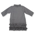 How to Kiss a Frog Doppi Dress Dark Grey - How to Kiss a Frog Doppi Dress Dark Grey ( Storlek 6 år )