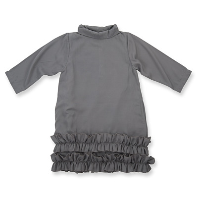 How to Kiss a Frog Doppi Dress Dark Grey - How to Kiss a Frog Doppi Dress Dark Grey ( Storlek 4 år )