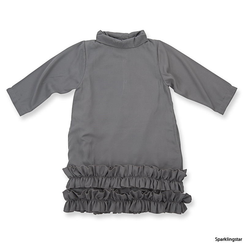 How to Kiss a Frog Doppi Dress Dark Grey