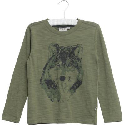 Wheat T-shirt Wolf - Wheat T-shirt Wolf ( DStorlek 4 år )