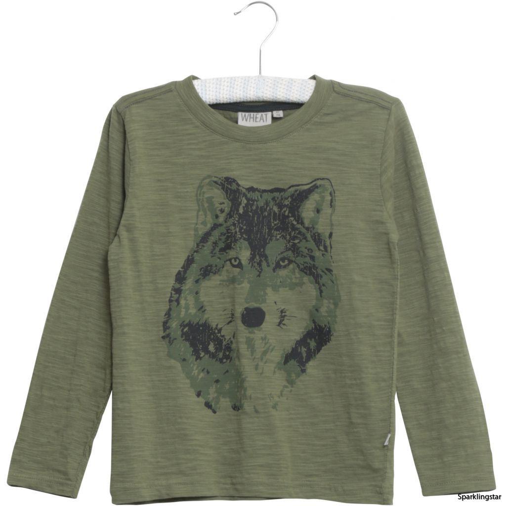 Wheat T-shirt Wolf