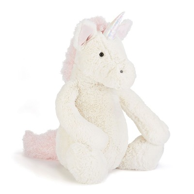 Jellycat Bashful Unicorn Medium - Jellycat Bashful Unicorn Medium