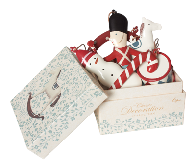 Maileg Classic Ornaments In Box - Maileg Classic Ornaments In Box