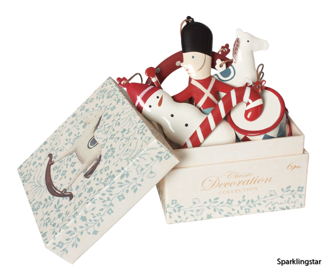 Maileg Classic Ornaments In Box