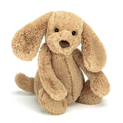 Jellycat Bashful Toffee Puppy - Jellycat Bashful Toffee Puppy