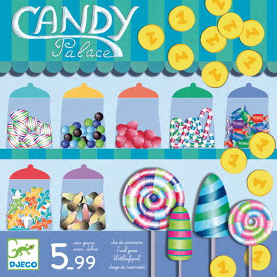 Djeco Games Candy Palace - Djeco Games Candy Palace