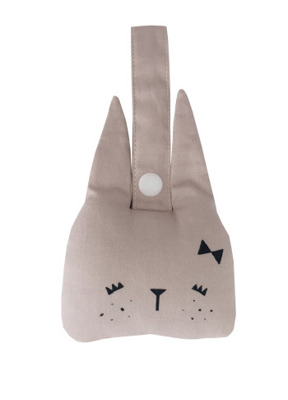 Fabelab Animal Rattle Bunny - Fabelab Animal Rattle Bunny