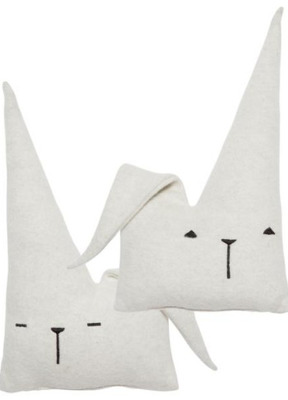 Fabelab Travel Friend Bunny Cushion - Fabelab Travel Friend Bunny Cushion