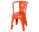 Maileg Metal Chair Orange - Maileg Metal Chair Orange