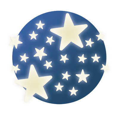 Djeco Wall Sticker Stars - Djeco Wall Sticker Stars