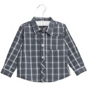 Wheat Shirt Olof Greyblue - Wheat Shirt Olof Greyblue ( Storlek 2 år )