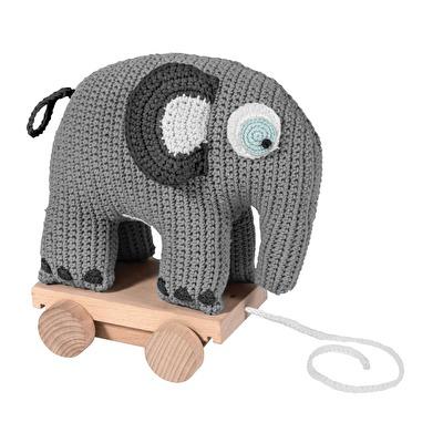 sebra Dragdjur Virkad Elefant ( Grå ) - sebra Dragdjur Virkad Elefant ( Grå )