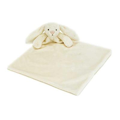 Jellycat Bashful Bunny Cream Blankie - Jellycat Bashful Bunny Cream Blankie