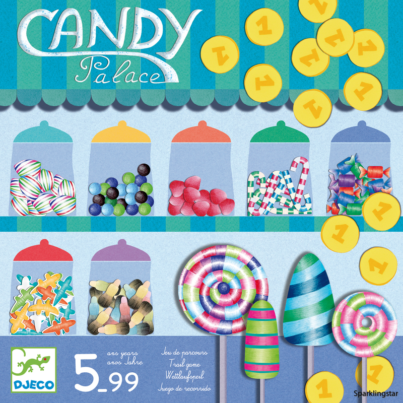 Djeco Games Candy Palace