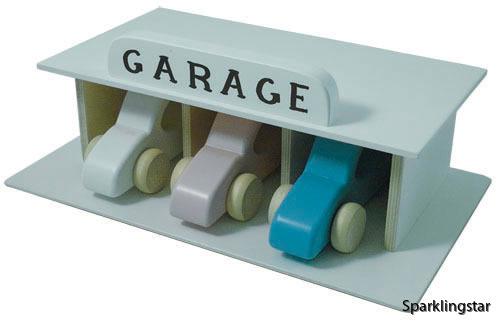 Kalikå  Garage (Vit)