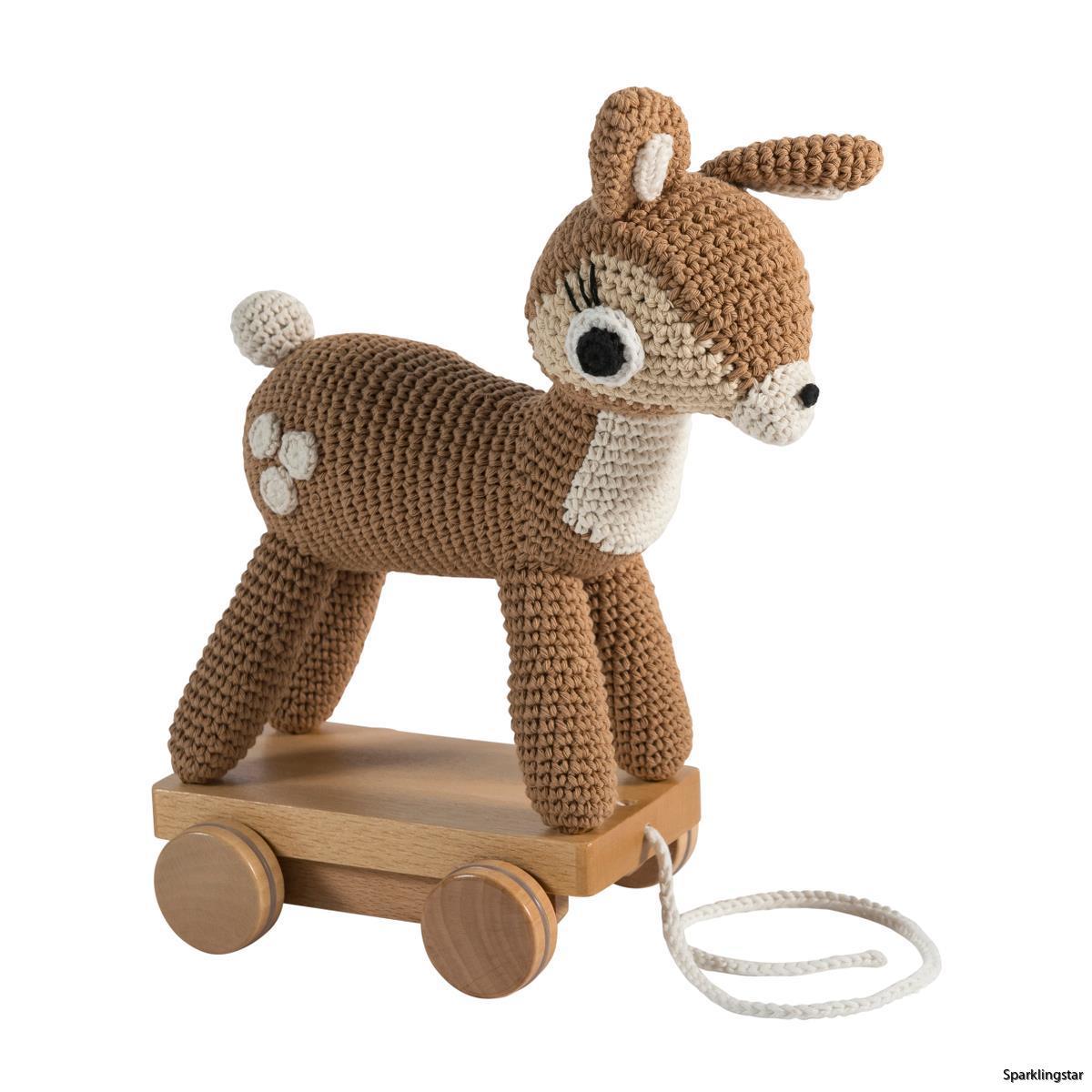 sebra Dragdjur Virkad Bambi