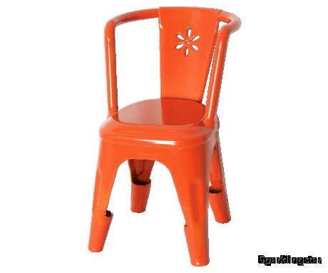Maileg Metal Chair Orange