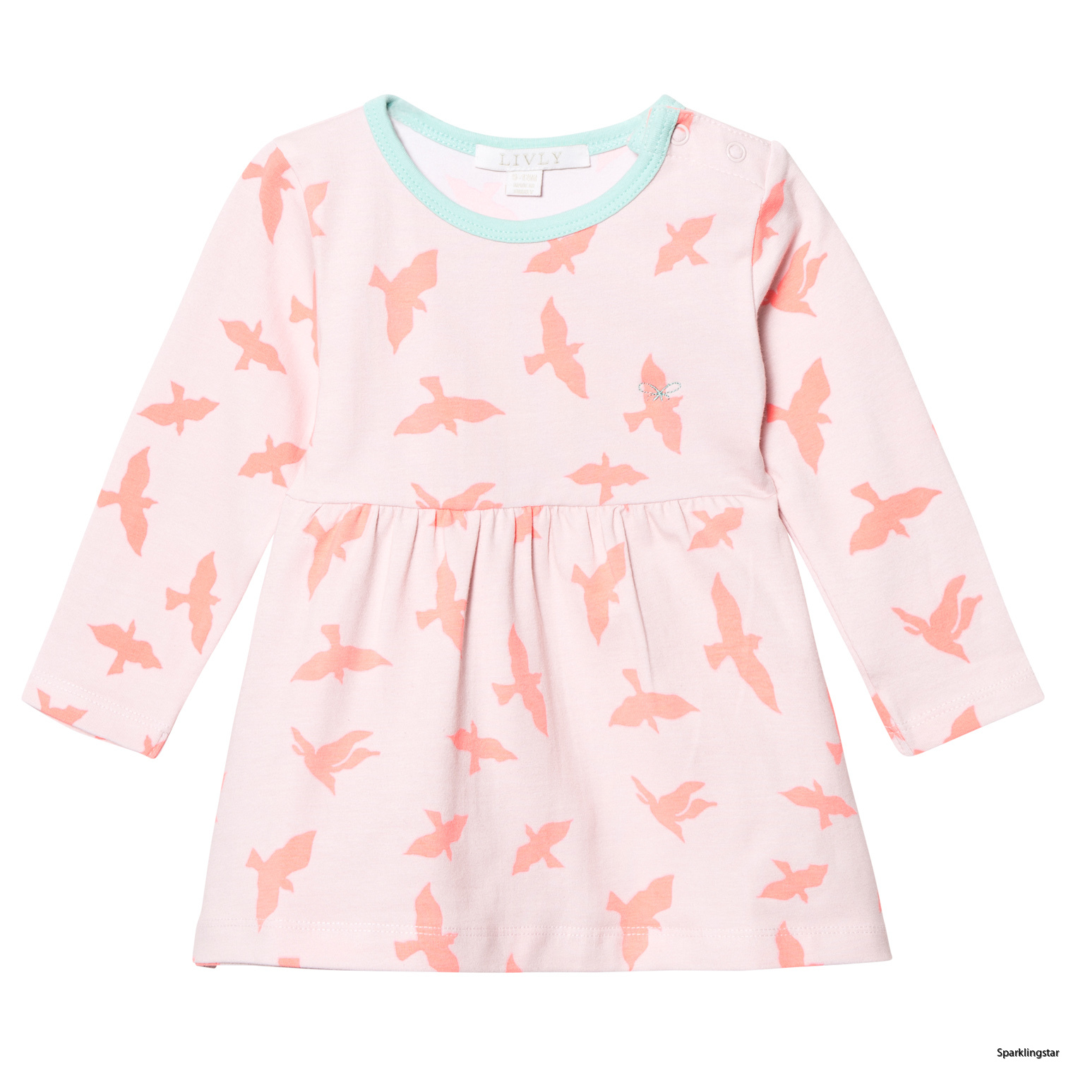 Livly Lotta Dress Pink Luna