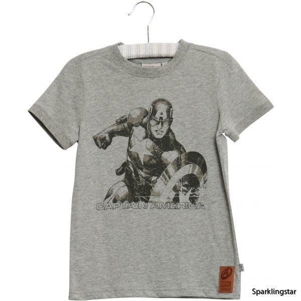 Wheat T-shirt Captain America