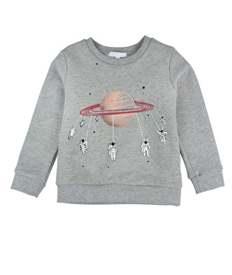 Livly Sweatshirt Spinning Astronaut - Livly Sweatshirt Spinning Astronaut ( Storlek 4 år )