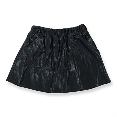 How To Kiss-a Frog Peach Skirt Black - How To Kiss-a Frog Peach Skirt Black ( Storlek 3 år )