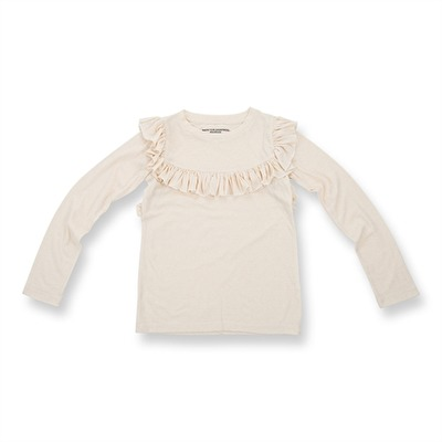 How To Kiss-a Frog Frill Jumper Off White - How To Kiss-a Frog Frill Jumper Off White ( Storlek 3 år )