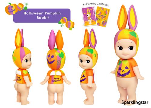Sonny Angel Artist Halloween Pumpkin 2017 ( Rabbit )