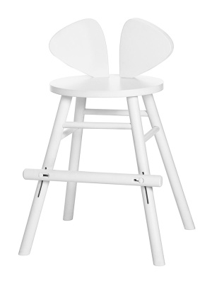 Nofred Mouse Chair Junior White - Nofred Mouse Chair Junior White