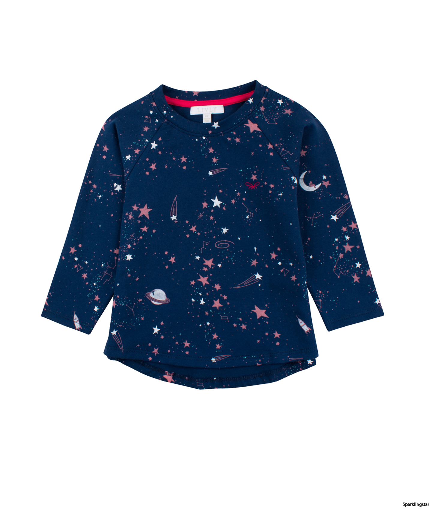 Livly Long Sleeve T-shirt Outer Space