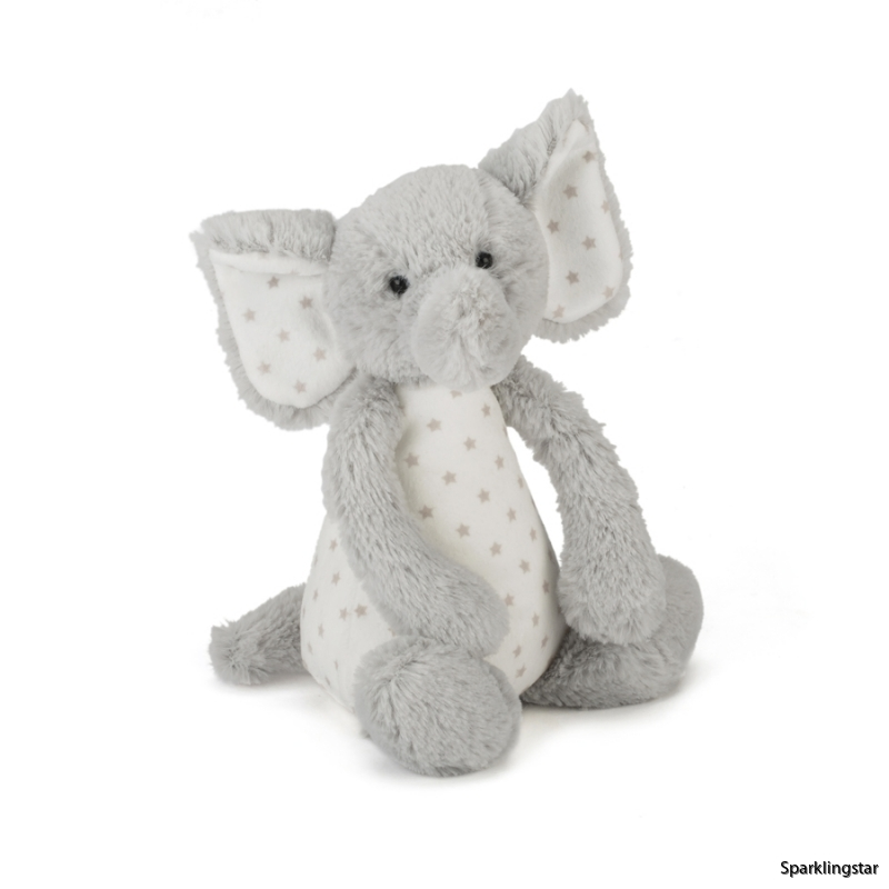Jellycat Starry Elly Rattle