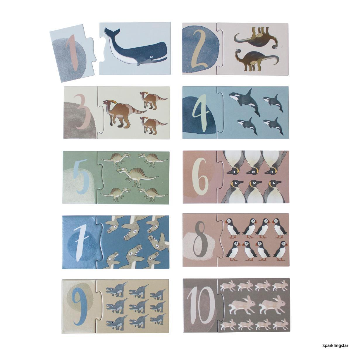 Sebra Memory Dino Arctic