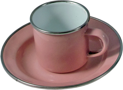 Kalikå Emaljerad Mug Rosa - Kalikå Emaljerad Mug Rosa