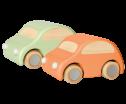 Maileg Woden Car Aprikos