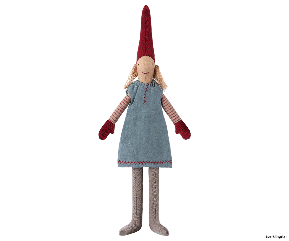 Maileg Mini Pixy Blue Skirt 2017