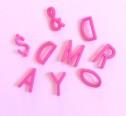 Omm Design Letters Bokstäver - Omm Design Letters Pink