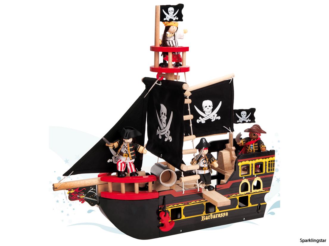 Le Toy Van Piratskepp Barbarossa